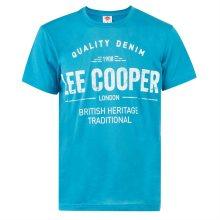 Pánské volnočasové tričko Lee Cooper