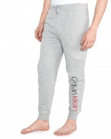 Kalhoty Calvin Klein | Šedá | Pánské | S