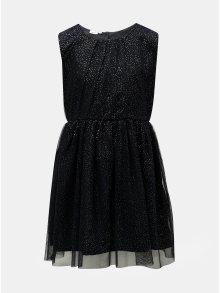 Tmavě modré vzorované šaty Name it Fisla