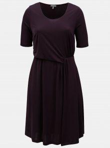 Fialové šaty Ulla Popken