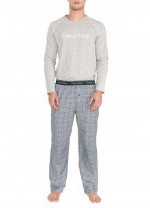 Pyžamo Calvin Klein | Šedá | Pánské | S
