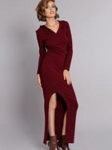 MDNZZ Dámské šaty MAD323_WINE\n\n