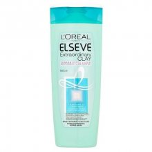 Loreal Paris Šampon pro rychle se mastící vlasy s lupy Elseve (Extraordinary Clay) 250 ml
