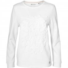 O\'Neill Lace Detail Crew Sweatshirt bílá L