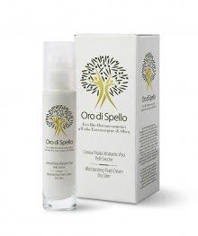 Oro di Spello Hydratační krém z extra panenského olivového oleje pro velmi suchou a dehydratovanou pleť  (Moisturizing Fluid Cream Dry Skin) 50 ml