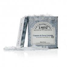Le Chatelard Strouhané vločky levandulového mýdla v zinkové krabičce (Lavender Soap Flakes) 575 ml