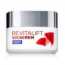 L´Oréal Paris Noční regenerační krém proti stárnutí pleti Revitalift Cicacrem (Anti-Aging & Repairing Wrap Cream) 50 ml