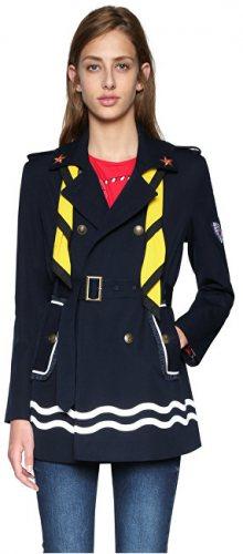Desigual Dámský kabát Abrig Morgane 18SWEW83 5001 36