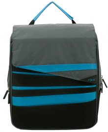 Friedrich Lederwaren Batoh Urban Survival 19L 30016-5 Black/Blue