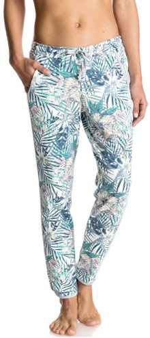 Roxy Kalhoty Hollow Dance Pant Print Marshmallow Beyond Love ERJFB03101-WBT8 L