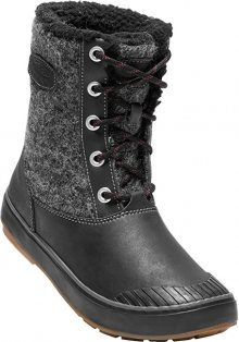 KEEN Dámské boty Elsa Boot WP Black Wool 37