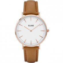 Cluse La Bohème Rose Gold White/Caramel CL18011