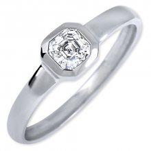 Brilio Silver Stříbrný zásnubní prsten 426 001 00509 04 - 1,27 g 54 mm