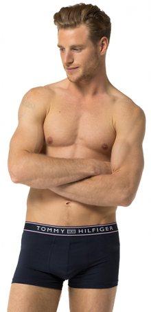 Tommy Hilfiger Pánské boxerky Stripe Micro Low Rise Trunk 1U87906052-416 Navy Blazer S