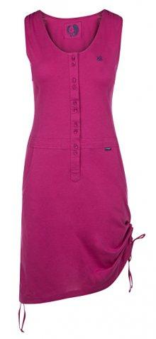 LOAP Dámské šaty Nela Fest Fuchsia CLW1890-J02J S