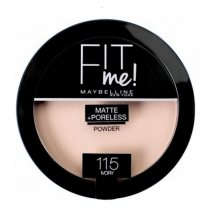 Maybelline Kompaktní matující pudr Fit Me (Matte & Poreless Powder) 14 g 220 Natural Beige