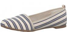 Tamaris Elegantní dámské boty 1-1-24668-28 Navy Stripes 36