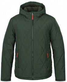 LOAP Pánská zimní bunda do města Totem Kom Green zelená CLM1741-P18P M