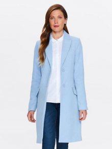 Kabát modrá světlá 40