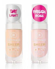 Dermacol Zkrášlující fluid (Sheer Face Illuminator) 15 ml 01 Fresh Rose