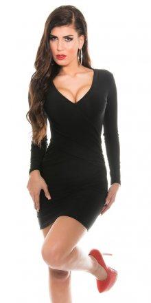 Koucla Černé mini šaty