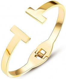 Troli Luxusní pozlacený náramek pro ženy gold 1867