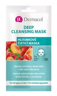 Dermacol Textilní hloubkově čisticí maska 3D (Gently Removes Dead Skin) 1 ks