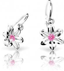 Cutie Jewellery Dětské náušnice C1993-10-X-2 růžová