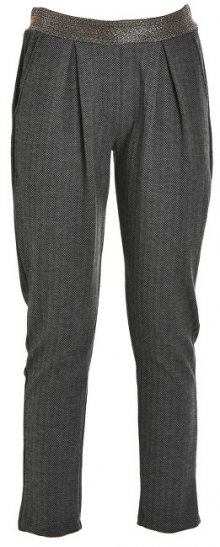 Deha Dámské kalhoty Pants D63445 Herringbone Grey/Bla L