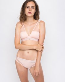 Tommy Hilfiger PADDED TRIANGLE BRA Pale Blush L
