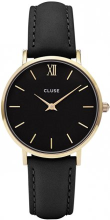 Cluse Minuit Gold Black/Black CL30004