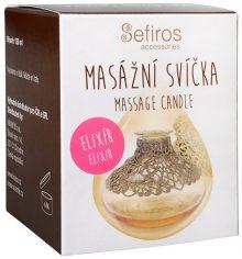 Sefiros Masážní svíčka Elixír (Massage Candle) 120 ml