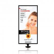 Iroha Čistící aromaterapeutický jemný peelingový gel smeruňkou (Soft Scrub Gel Cleansing Apricot) 25 g