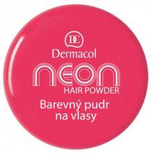Dermacol Barevný pudr na vlasy Neon 2,2 g č.1 žlutá