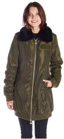 Fornarina Dámská bunda Rain - Army Jacket BI183F27N30531 S