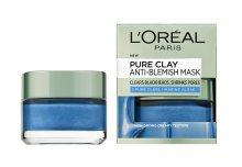 Loreal Paris Maska proti černým tečkám Pure Clay (Anti-Blemish Mask) 50 ml