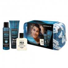 Dermacol Men Agent Gentleman Touch 3v1 pro muže sprchový gel 250 ml + deodorant 150 ml + voda po holení 100 ml + kosmetická taška dárková sada
