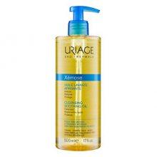 Uriage Zklidňující čisticí olej na obličej a tělo Xémose (Cleasing Soothing Oil) 500 ml