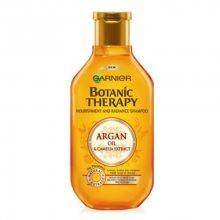 Garnier Vyživující šampon s arganovým olejem a kamélií pro normální až suché vlasy Botanic Therapy (Nourishment And Radiance Shampoo) 250 ml