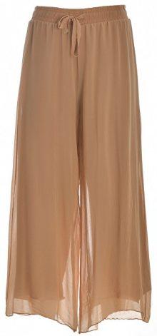 Deha Dámské kalhoty Cropped Wide Leg D73206 Biscuit S