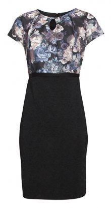 Smashed Lemon Dámské krátké šaty Black 170043/02 XS