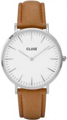 Cluse La Bohème Silver White/Caramel CL18211