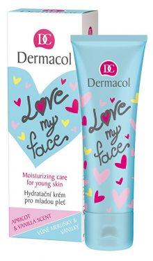 Dermacol Lehký pleťový krém s vůní meruňky a vanilky Love My Face (Moisturizing Care) 50 ml