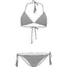 O\'Neill Pw Print Tie Side Bikini černá 36