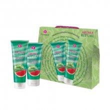 Dermacol Aroma Ritual Vodní meloun tělové mléko 200 ml + sprchový gel 250 ml dárková sada