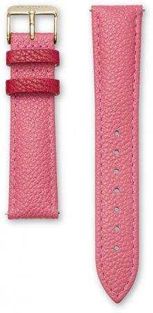 Rosefield Letní růžový řemínek 18 mm gold SSTR-S173