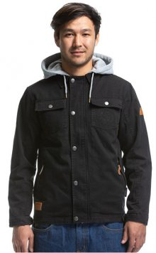 Meatfly Pánská bunda Taras Cotton Jacket A-Black M
