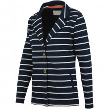 Brakeburn Striped Jersey Blazer modrá S