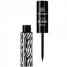 Dermacol Tekuté oční linky (Ultra Black Dipliner) 2,8 ml Black