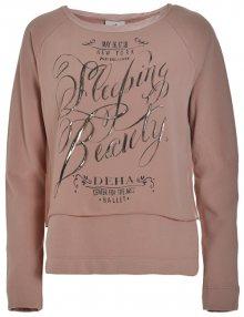Deha Dámská mikina Double Sweatshirt B84062 Rose Dust XS